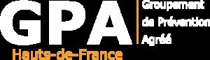Logo du GPA des Hauts-de-France Blanc